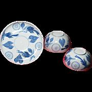 Japanese Imperial porcelain with 16-petals Kiku Mon