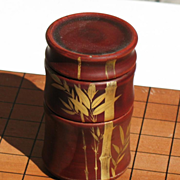Japanese table dice game set made by MARUNI Company circa 1948