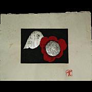 3 prints Kaoru Kawano (1916-1965)