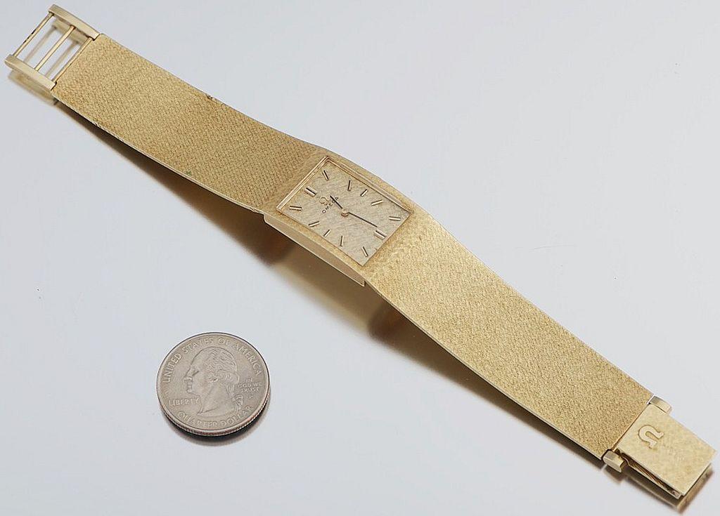 Omega Gold Watch Price Omega Wrist Watch 14k Gold