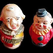 Vintage Celluloid Roly Poly Miniature Figures