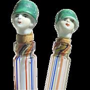 Flapper Doll Figural Perfume Bottles Miniatures