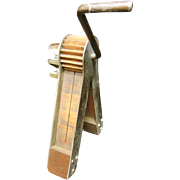 Watchmen's Rattle Metal and Wooden Fire Alarm
