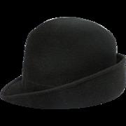 Vintage Knox New York Men's Bowler Derby Hat In Original Box - 7 1/4