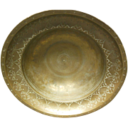 18th Century Brass Persian Bowl
