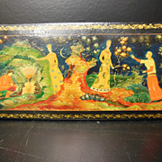 Russian Lacquer Fairytale Box