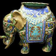 Cloisonne Elephant