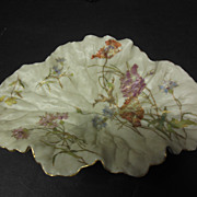 Royal Worcester Leaf Plate
