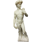 """""""David"""" Marble Sculpture by Tucci"""