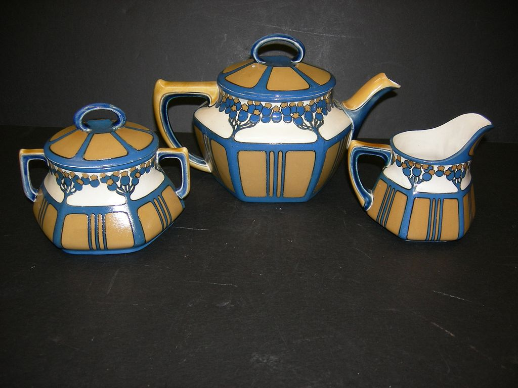 German Mettlach Tea set