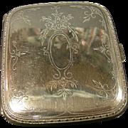 Sterling Silver Cigarette & Card case