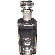 "REDUCED Marked ""W. T. & Co.""  Druggist Bottle with Ground & Polished Neck &a"