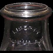 "REDUCED Original ""LIBERTY TUBULAR"" Lantern Globe with an aged Sun Purple Tint !!! Circa 19"