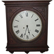 "SOLD Seth Thomas ""Office No. 5"" Gallery Clock with Original Finish Circa 1909 !!!"