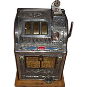 "Mills ""Liberty Bell"" Five Cent Slot Machine !!! Circa 1923-1924."