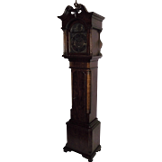Circa 1940 Bench Made Dwarf Cased Clock with imported Mason & Sullivan German Westminster Chim