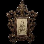 "REDUCED Armed ""Indian Princess"" CDV Photo from NY. Photographer Circa 1890 !!!"