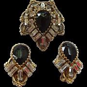 Stunning Freirich Brooch & earrings