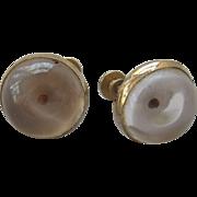 Coro Mistard Seed Lucite Earrings