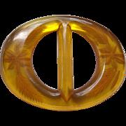 Reverse Carved Bakelite Buckle
