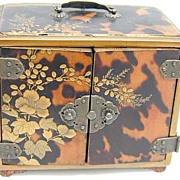 Rare Japanese Shibayama Lacquered Kodansu Incense Chest