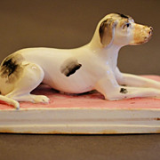 Antique Staffordshire Dog
