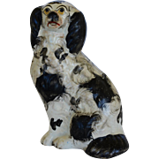 Antique Staffordshire Spaniel Dog ~ C1860