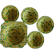 Crown Ducal Pudding Bowl Set ~ Primula/Primrose