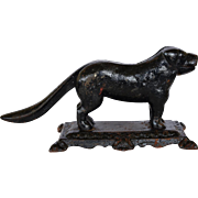 Victorian Cast Iron Dog Nutcracker