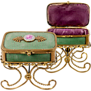 SOLD Antique French or Italian Jewelry or Trinket Box, Casket ORMOLU