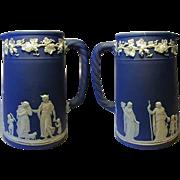 SALE Fine 1900s Wedgwood Jasperware Syrup Pitcher
