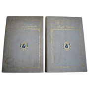 SALE Rare Edition 2 Volume Set Life of Marie AntoinetteC19TH