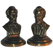 SALE Abraham Lincoln Bookends