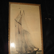 Original Bluenose Racing Photograph 1930