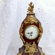 SALE French Cartel Ormolu Marquetry clock
