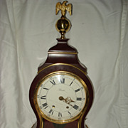 SALE Vintage French Cartel Wooden Clock