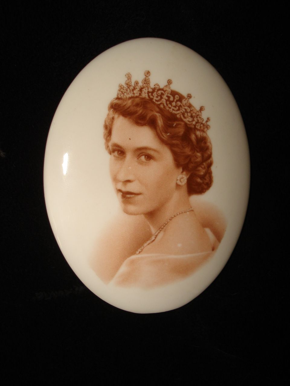 Queen Elizabeth ll Tuscan 1953 Coronation Portrait