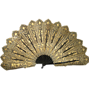 SALE EvenTail French Fabric Fan