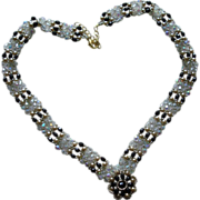 SALE Swarovski Crystal Necklace and Bracelet