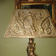 Art Nouveau Figural Lamp