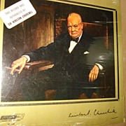 SALE WWII Audio disc Record Winston Churchill Harry Truman VE