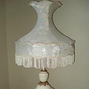 Hollywood Regency Muses Lamp