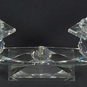 Swarovski crystal Candle Holder