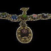 Juliana Moroccan Pendant Bracelet Set