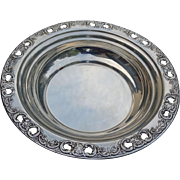 Reed & Barton Sterling Silver Bowl Florentine Lace Pattern