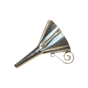 Sterling Silver Miniature Perfume Funnel Vintage Hand Crafted Heirloom