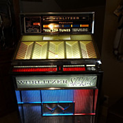 SALE 1963 Wurlitzer Jukebox Model 2700 Multi Selector Early Stereo Phonograph Professionally .
