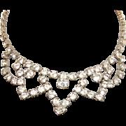 Vintage Rhinestone Doll Necklace