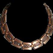 Vintage Retro Copper Necklace