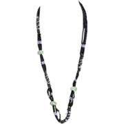 Beaded  Apple Jade Necklace